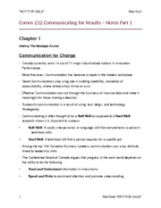 Comm-212 Study Guide Part 1