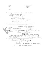 Quiz 2 Solution on Calculus 1