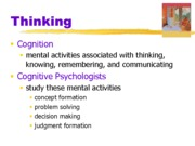 ch10. Thinking Communication ppt