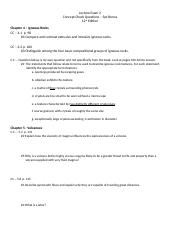 Exam 2 Concept Check (12th edition)