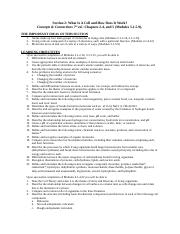 Bio 107 Section 2 Study Guide (1).doc