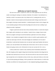 Reflection on Goals & Interests - Herman Quiroga