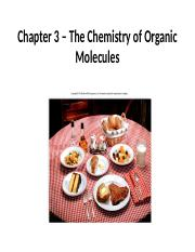 Chapter 3  The Chemistry of Organic Molecules.pptx