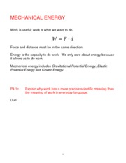 review 4 final-mechanical energy