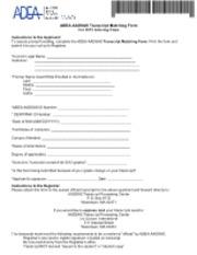 CASPA - 6791648386-1238199-X Transcript Matching Form CASPA ...