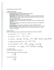 Chem Study Slam Problems (with solutions)
