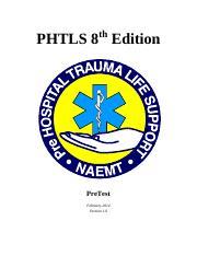 Phtls 8th Edition Pdf