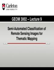 GEOM 3002_L9_2015_Unsupervised Classification