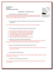 Situation Ethics Discussion and Study Questions BBSE