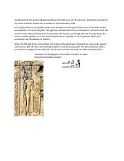 Anuket was the first ancient Egyptian goddess of the Nile river and its cataracts.docx