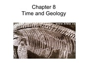 Chapter 8 -Time and Geology