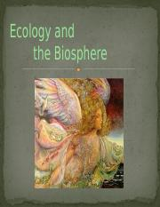 Ecology and the Biosphere.pptx