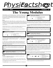 The Young Modulus.PDF