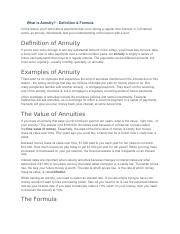 What is Annuity.docx