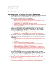 Social Protest Literature Midterm 1 Study Guide