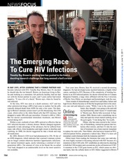 The emerging race to cure HIV infections_Cohen_Science 2011