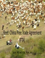 Free Trade Agreement of Beef to China.pptx