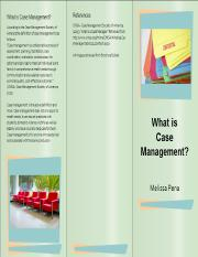 What is CAse Management Brochure