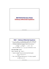 MATH2310_Revision_Notes_ODE