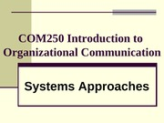 Chapter 4 - Systems Theory