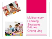 Multisensory Learning Strategies