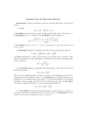 Midterm 1 Answers Econ325 Winter 2014