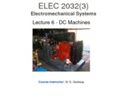 Lecture 6 - DC Machine II Student
