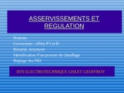 Asservissements & Régulation