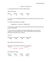 Chapter 7 Group Exercise