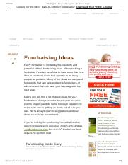 Activity-150+ Original & Easy Fundraising Ideas - Fundraiser Insight.pdf