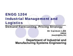 ENGG1204_3_Demand Forecasting and Pricing(Updated).pdf