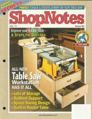 Shopnotes 43 vol 08 build your own dovetail jig 38 pages shopnotes 66 vol 11 improve your router table 6 steps greentooth Image collections