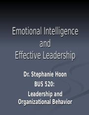 Emotional Intelligence and Effective Leadership Copy