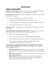 Exam 4 Chapter 10, 12, 14, 15-study guide