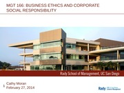 Class 16 Lecture A00  022714 - Business Case for CSR less video