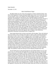 black hero essay