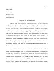 my dreams essay.docx