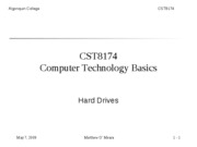 CST8174_Lecture_8_Introduction_to_hard_drives