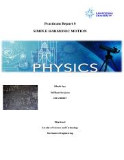 William surjana - Physics Practicum 9 Report.docx