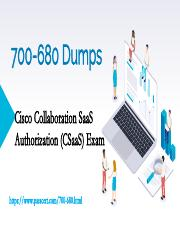 Cisco 700-680 Collaboration SaaS Dumps.pdf