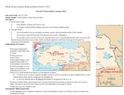 Post WW1 Treaty Analysis-Lausanne