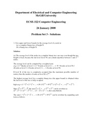 ECSE 322 Problem Set 3 Solutions