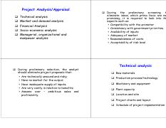 Project management- project analysis or apraisal.pdf