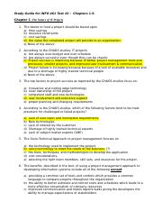 Study Guide for INFO 461 Test1.docx