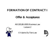Contract-formationI 2012