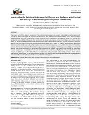 published-pdf-0692-6-Investigating the Relationship between Self-Esteem and Resilience with Phys-ica