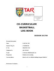 Basketball Logbook.doc
