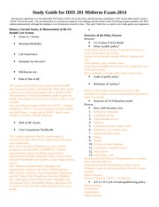 Midterm Study Guide!