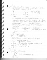 Chemistry Test Seven Review Notes