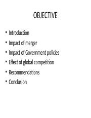 Competitive Strategies and Government Policies